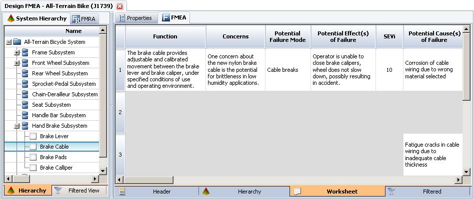 FMEA Corner Application Tips Begin with Concerns – Fmea Worksheet
